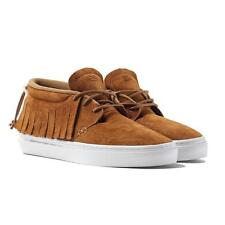 Men's Clear Weather One-O-One Chukka Moccasins, Honey Suede - Size: 12