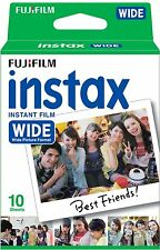 New Fujifilm Instax WIDE Film Pack Cartridge for 300 210 200 100 Instant Camera