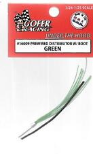 Gofer Racing , Prewired Distributor with Boot, Green Wire in 1/24, 1/25 16009 ST