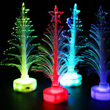 Mini Xmas Christmas Tree Color Changing LED Light Lamp Home Party Decoration
