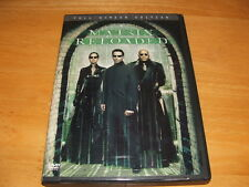 The Matrix Reloaded DVD, 2003, 2-Disc Set Excellent Condition!