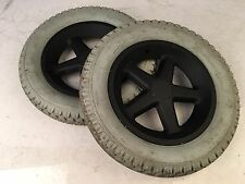 Quickie S-525 Drive Grey Pr1mo Power Express Wheels (62-203) 12 1/2x2 1/4