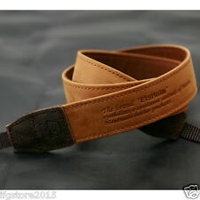 New Matin Leather Camera Strap Vintage-30 TAN for Canon Nikon Sony DSLR Strap