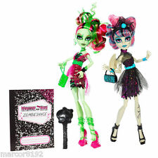 Monster High Zombie Shake Rochelle Goyle & Venus McFlytrap Dolls 2 Pack
