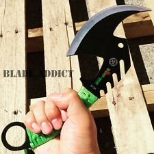 ZOMBIE FULL TANG TOMAHAWK TACTICAL THROWING AXE CAMPING HATCHET KNIFE HUNTING