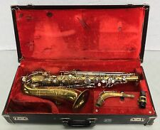 Vintage Martin Imperial Eb Alto Sax Saxophone for Parts or Repair