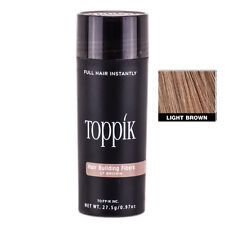 NEW SEALED Toppik Hair Building Fibers LIGHT BROWN 27.5g FAST FREE USA SHIPPING!