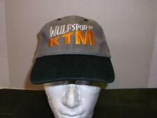 Wulfsport MX KTM Casquette Noir / Gris