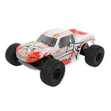 ECX AMP MT 1/10 2WD Monster Truck White/Orange RTR W/ Battery/Charger ECX03028T1