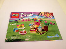 Lego Friends Instruction Booklet 41088 MANUAL ONLY Book