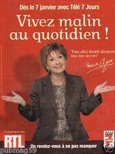 Publicité advertising 2013 Marion Game avec Radio RTL
