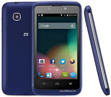 BRAND NEW ZTE KIS III / 3 - UNLOCKED - WIFI - BLUE - 3.2 MEGAPIXEL CAMERA