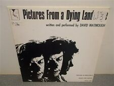 * David Watmough . Pictures From A Dying Landscape . Spoken Word . LP