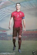 "CRISTIANO RONALDO ""PORTUGAL, WALKING IN STADIUM"" POSTER - Soccer / Football"