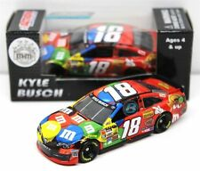 NASCAR KYLE BUSCH #18 PEANUT BUTTER M&MS 1/64 DIECAST CAR 100'S OF CARS IN STOCK