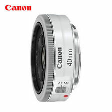 Canon EF 40mm f/2.8 STM 0.98 ft/0.3m Pancake Lens _ white