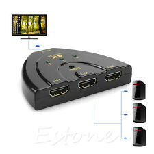 4K*2K 3 in 1 Out HDMI Switch Hub Ultra HD Splitter Adapter 1080P for HDTV PC DVD