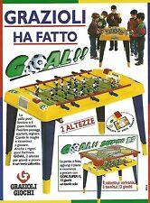 X7902 Goal Super 13 - Grazioli Giochi - Pubblicità 1994 - Vintage advertising