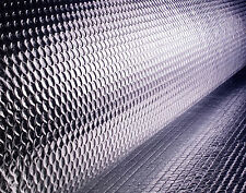 Double foil bubble insulation 30 square metres 1.2x25m,roof,wall,radiator,attic