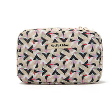 CHLOE See by Chloe Makeup Cosmetics Bag, Brand NEW!!