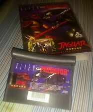 Vintage Atari Jaguar 64 Bit Alien Vs Predator Video Game In Reproduction Box