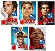 20 DVDs * DEXTER   -  STAFFEL / SEASON 1 - 5 IM SET# NEU OVP