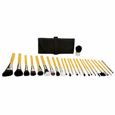 Bdellium Tools Mineral Luxury Studio Line 24 Piece Brush Set + Roll Up Pouch