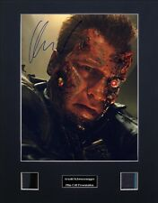Arnold Schwarzenegger Signed Film Cell Presentation