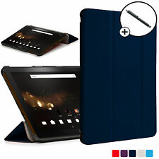 Forefront Cases® Blue Folding Smart Case Cover Acer Iconia Tab 10 A3-A40 Stylus