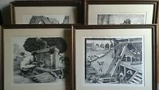 6 lithographs by mexican artists