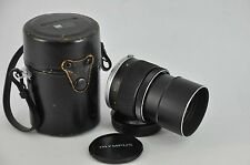 OLYMPUS OM E ZUIKO AUTO-T 135MM F3.5 CAMERA LENS nice condition