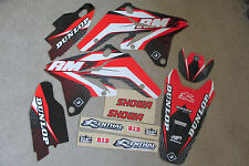 FLU DESIGNS 40043 TS1 TEAM GRAPHICS & BACKGROUNDS  SUZUKI  RMZ250 2007-2008 2009