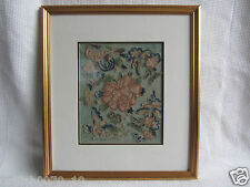ANTIQUE CHINESE SILK FORBIDDEN EMBROIDERY