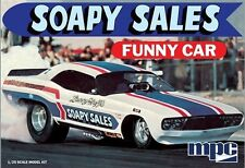 MPC 1:25 Soapy Sales Dodge Challenger Funny Car Model Kit MPC831