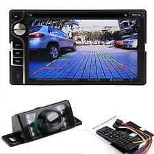 "Camere + Bluetooth 2 Din 6.2"" HD Stereo Car CD DVD Player Touch Screen TV Radio"