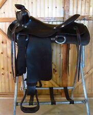 "15"" Well Made Vintage Ranch Western Saddle"