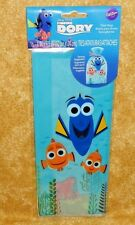 Finding Dory Treat/Party/Loot Bags,Wilton,1912-6678,Blue,Multi-Color,Cello