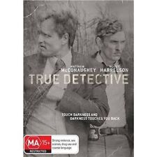 TRUE DETECTIVE-Season 1-Region 4-New AND Sealed- 3 DVD Set-TV Series