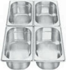 3 AG Gastronormbehälter Chafing Dish GBE 1/4 - 65 mm NEU