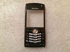 RIM Blackberry Pearl 8100 8120 cover anteriore + tastiera NERO Originale