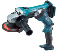 Makita BGA452 18v Cordless Angle Grinder 115mm Lithium-Ion + BML185 Torch