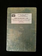2 LBS GREEN TEA MELT AND POUR SOAP BASE  SOAP MAKING SUPPLIES