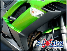 11-13 Kawasaki Ninja 1000 Shogun No Cut Black Frame Sliders