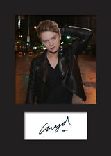 CONOR MAYNARD #2 A5 Signed Mounted Photo Print - FREE DELIVERY