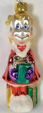Vintage Dr Seuss How the Grinch Stole Christmas Glass Hand Decorated Ornament