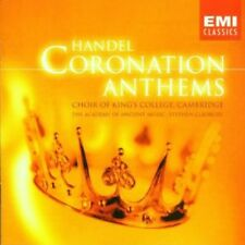Handel: Coronation Anthems - King's College Choir (2001, CD NEUF)