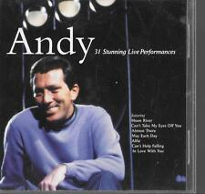 2 cd ANDY WILLIAMS in concert 31 stunning live performances ANDY 60s 50s music
