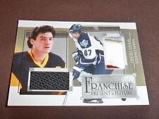 05-06 ITG Sidney Crosby / Mario Lemieux Double Emblem /10 RC Franchise 3CLR 1/1?