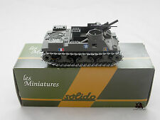 Miniature Collection Métal Tank SOLIDO PRIEST M7 Obusier Artillerie France 1/50e