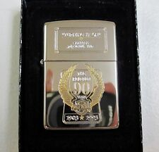 "HARLEY DAVIDSON 90TH ANNIVERSARY ZIPPO ""TURNING IT ON"" DEALER ISSUE 99150-93ZF"
